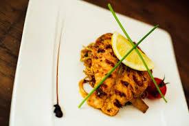 la grande cuisine roasted tom yum salmon picture of the brasserie at la grande mare