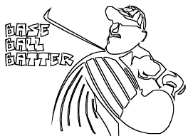baseball coloring pages boys u2014 fitfru style