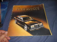 fifth avenue catalog sales chrysler fifth avenue ebay