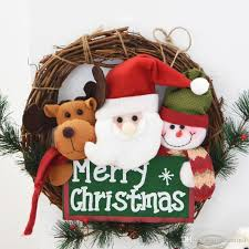 Christmas Decorations Wall Tree by Christmas Decoration Door Wall Tree Hanging Wreath Loop Gift