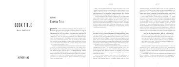 simple interior book formatting and design services