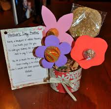 mother u0027s day gift idea candy flower bouquets little lds ideas