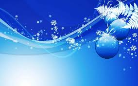 blue and silver christmas background ne wall