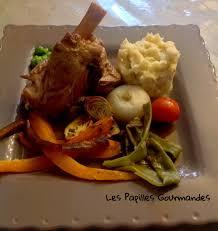 souris cuisine souris d agneau confite miel romarin et ses petits légumes du