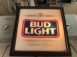 bud light light up sign bud light light up sign general in selma ca offerup