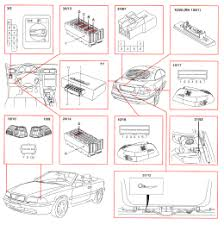 volvo c70 convertible wiring diagram cable harness and routing 1998