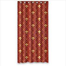 Fleur De Lis Shower Curtains 117 Best Fleur De Lis Home Decor Images On Pinterest Fleur De