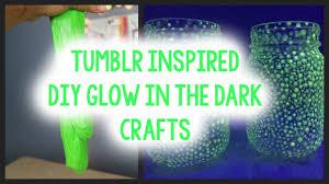 DIY GLOW IN THE DARK CRAFTS  TUMBLR INSPIRED  YouTube