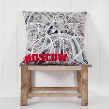 Map Tapestry Contemporary Moscow City Map Tapestry Kit By Hannah Bass