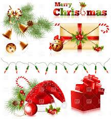 set of christmas symbols vector clipart image 5285 u2013 rfclipart