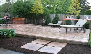How To Lay Patio Pavers by Building A Patio On A Slope Home Design Ideas And Pictures