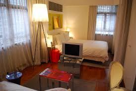Small Studio Apartment Ideas Apartment Dazzling Small Studio Apartment Bedroom With Bed