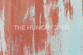 painted wall texture weathered red on blue rusty painted wall texture brush strokes