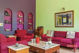 design a beautiful living room using the right colours renomania