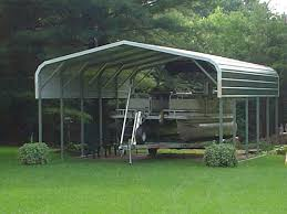 Garage For Rv Carports Double Garage With Carport Rv Shed Kits Single Carport