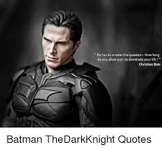 Christian Bale Meme - he has to answer the questionhow long do you allow pain to