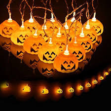 pumpkin lights pumpkin lantern string 2 3m pumpkin light skull light