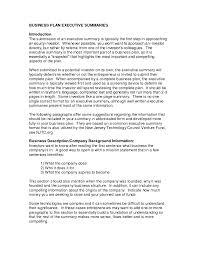executive summary template example mughals