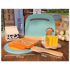kinder spiel k che mwz kinder holz frühstück täuschen spiel küche toaster spielzeug