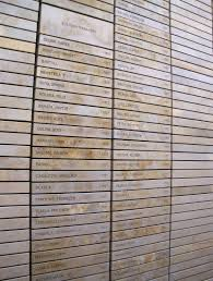 detail of the wall of names freedom park pretoria author s