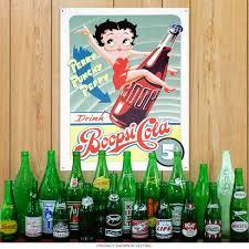 betty boop home decor drink boopsi cola betty boop tin sign tv decor retroplanet com