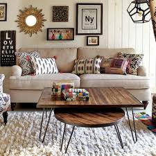 rectangular wood hairpin coffee table rectangular wood hairpin coffee table world market 189 99 house