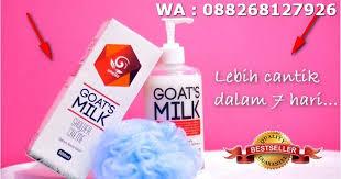 Pemutih Ql jual aneila goats milk shower pemutih ql di lapak