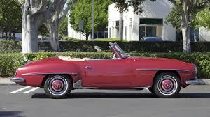 1958 mercedes benz 190sl roadster s106 1 anaheim 2015