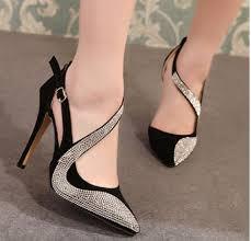 Rhinestone Sandal Heels Rhinestone Sandals High Heels With Pointed Toe Summer Spring Shoes