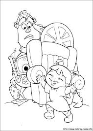 100 monsters university coloring pages print cute