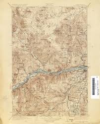 Map Of Eastern Oregon by