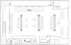 West Wing Floor Plan The Ainsworth Restaurant Bar Burgers Sports Event Space