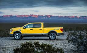 yellow nissan truck 2018 nissan titan xd preview pricing release date
