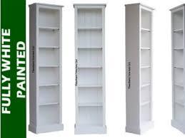 Narrow Bookcases Uk White Bookcase Uk Birthday Cake Ideas