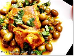 cuisine marocaine tajine agneau plat algérien d agneau aux olives vertes tajine zitoune aux