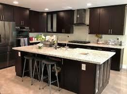 wood kitchen cabinet boxes details about 10 x10 espresso shaker solid wood kitchen cabinets 5 8 plywood box soft
