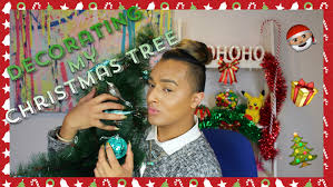 decorating my christmas tree kris fox youtube