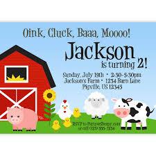 farm birthday party invitations theruntime com