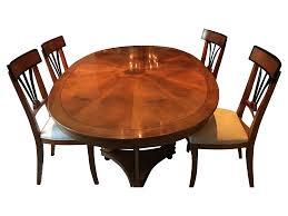 Chromcraft Dining Room Furniture Century Capuan Dining Set Set Of 7 Chairish