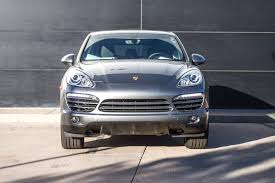 Porsche Cayenne Diesel - 2014 porsche cayenne diesel for sale in colorado springs co p2374