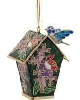 spectacular deal on cloisonne hummingbird ornament