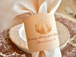 printed napkin ring with scripture verse from a post on