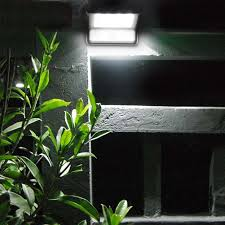 solar power powered 20 led energy saving waterproof garden outdoor