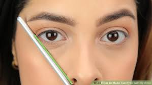 liquid eyeliner tutorial asian how to make cat eyes with eyeliner with pictures wikihow