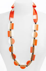 where to buy ribbon burch colorblock bead ribbon necklace where to buy how to