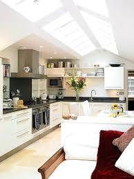 vaulted kitchen ceiling ideas kitchen cathedral ceiling ideas a vaulted ceiling with skylights