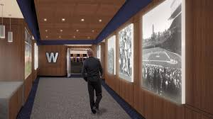 Chicago Cubs Map by Details On Cubs 30 000 Square Foot Wrigley Field Clubhouse