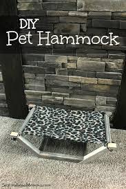 diy pet hammock