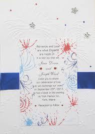 Invitations For Weddings Patriotic Wedding Invitations
