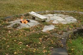 Firepit Bench by Dan Snow Firepit And Granite Bench Dan Snow